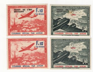 Junker and Scout with Eastern Front Overprints