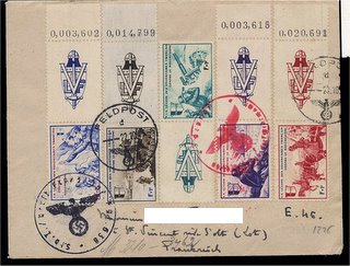 cover with Feldpost cancels