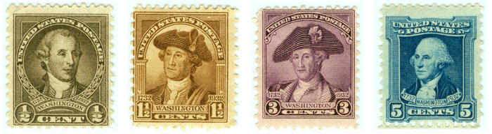 Peale Stamps