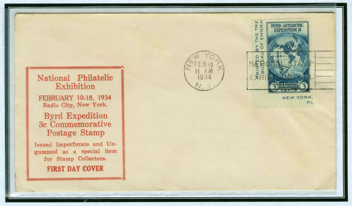 1st day cover