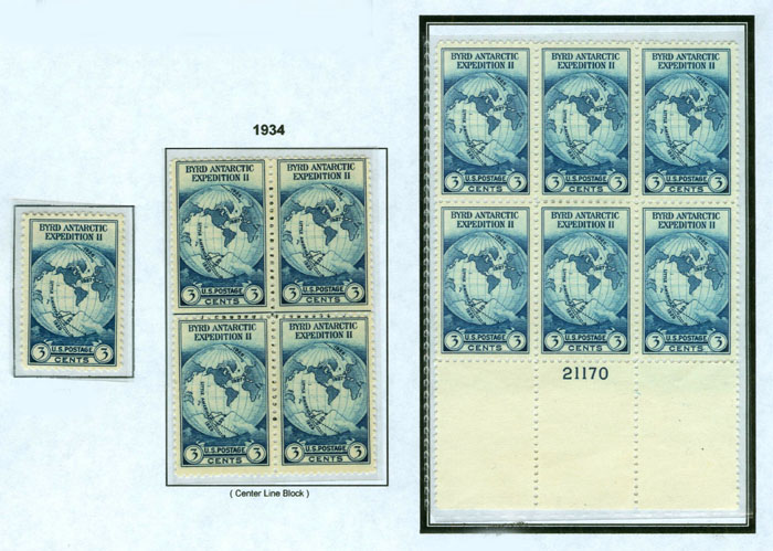 1934 Stamps