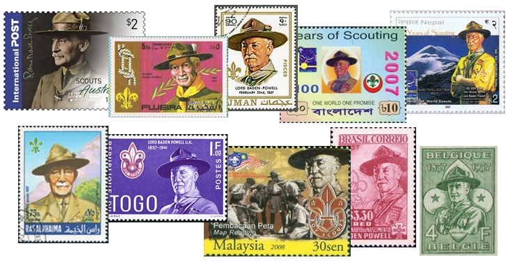 Baden-Powell Collage