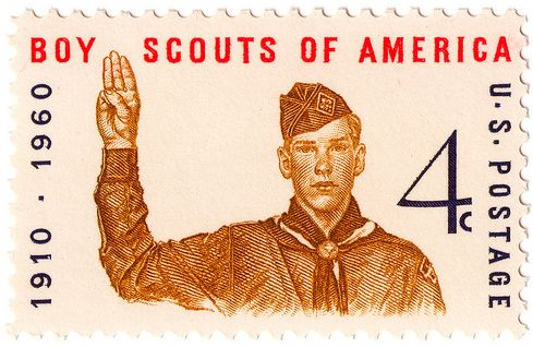 US Boy Scout Stamp