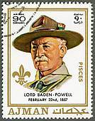 Powell Stamp - 1