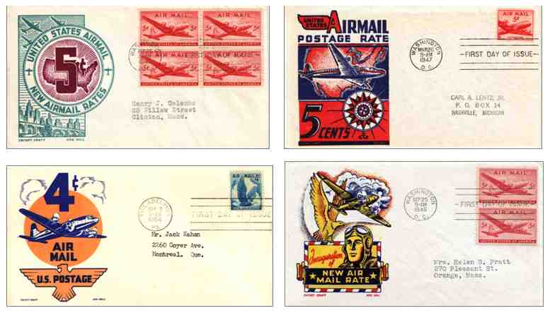 Airmail Covers - 1