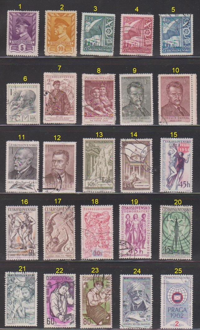 Page of Stamps